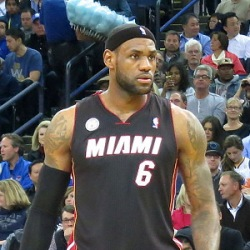 LeBron Raymone James, King James